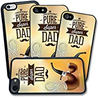 Cover Apple iPhone - Stampa 100 percento super papà Super Dad - Apple iPhone 6 Plus