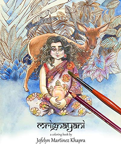 Kostüm Saree - Mrignayani: A Coloring book