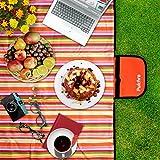 Pulchra Picknickdecke, Wasserdicht, Premium-Qualität (600D Oxford Stoff), Größe (203.2cm × 152.4cm), Faltbare, Draußen Camping, Strandmatten Decken, Baby Kriechende...