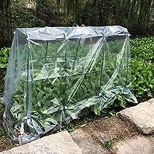 HAIPENG-Invernadero De Jardín Invernáculo Planta Creciente Vegetal PVC Cubrir Protección contra El Frío Equipo