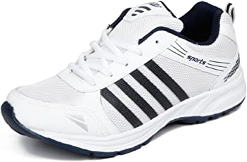 ASIAN Shoes Wonder 13 White Navy Blue Men's Sports Shoes