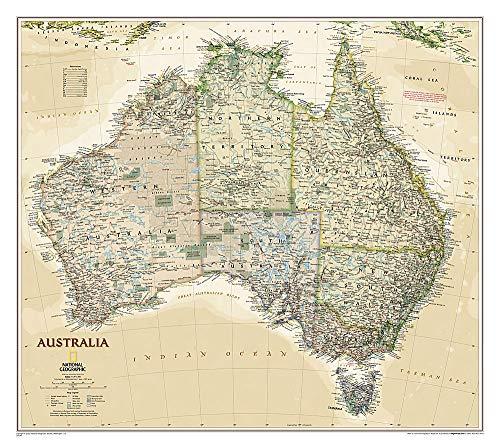 Australia Executive (National Geographic Reference Map) - Karte Von Australien