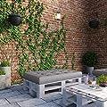 OSKAR Palettenkissen Palettensofa Palettenpolster Kissen Polster Lehne von Oskar bei Gartenmöbel von Du und Dein Garten