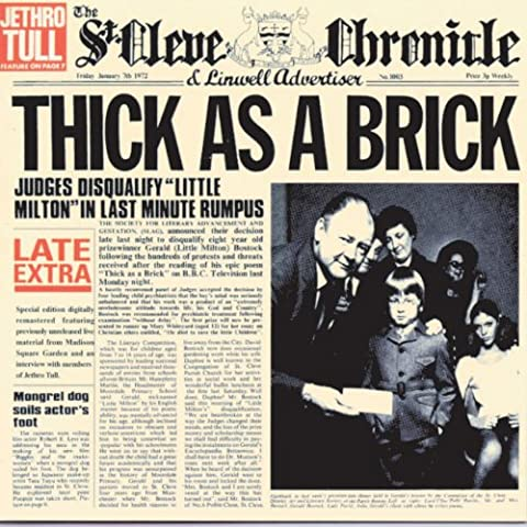 Jethro Tull Thick As A Brick - Thick As A Brick (Digibook CD +