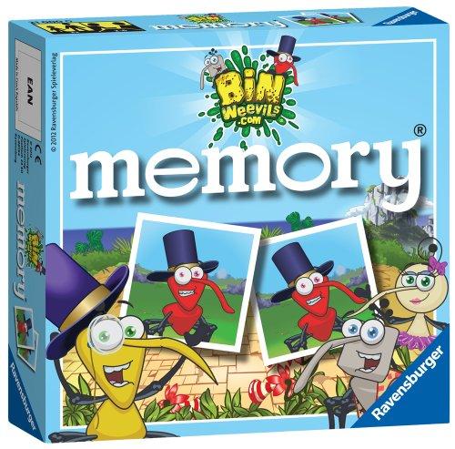 Mini-memory Card (Bin Weevils Mini Memory Card Game)