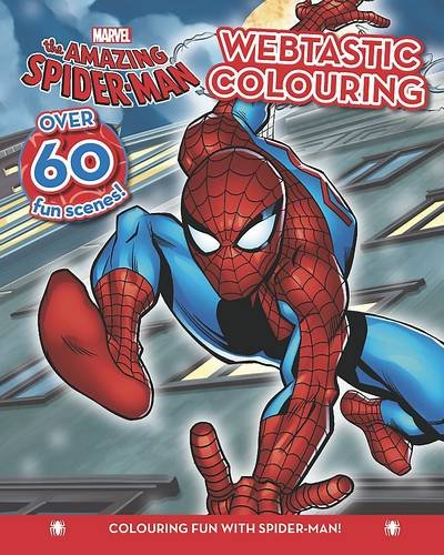 Marvel Spider-Man Colouring Fun Book