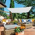 Aktive Sonnensegel für Garten, Polyester, 3x 4m, weiß (COLORBABY 53912) von ColorBaby bei Gartenmöbel von Du und Dein Garten