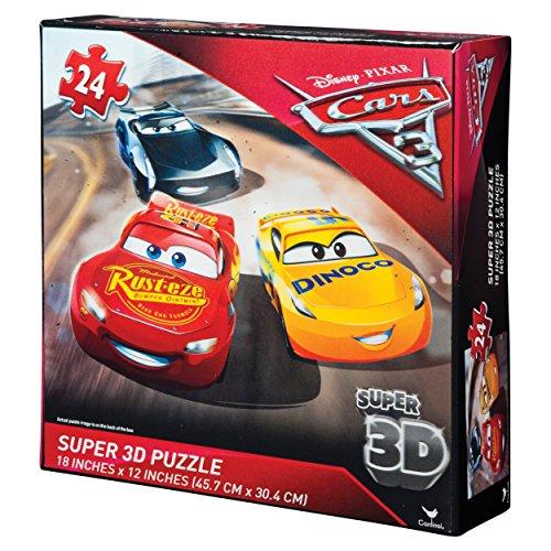 Cardinal-6035638-Caja 3Puzzles Image Efecto 3D-Cars 3