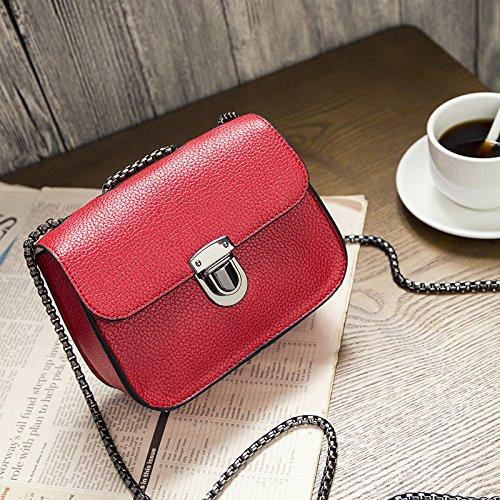 Neue Mode, kleine Quadratische Tasche, Kette Tasche, einzelne Schulter und Cross-Span Frauen Tasche a
