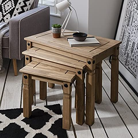 Nesting Tables | 3 Tables | Rustic