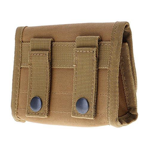 Tactique militaire munitions recharge pochette Holster sac pour 12 Gauge / 20G boue jaune