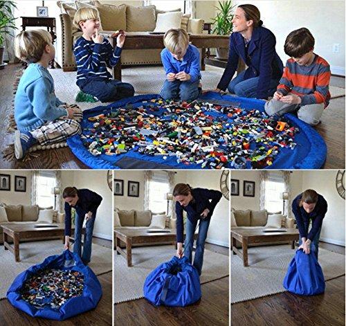 Aufräumsack Spieldecke, Togather Kinder Spielzeugsack Spielzeug  Speicher Tasche Aufbewahrung Beutel Spielsack spielzeugaufbewahrung Sack für kinder