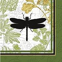 Cypress Home, motivo giardino botanico, tovaglioli di carta da Cocktail, confezione da 20 - Giardino Luncheon Tovaglioli
