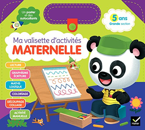 Ma valisette d'activités Maternelle 5 ans Grande section