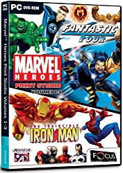 Marvel Heroes Print Studio Volumes 1-3 (PC)
