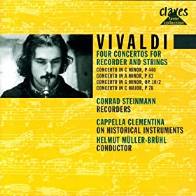 Vivaldi: Four Concertos for Recorders