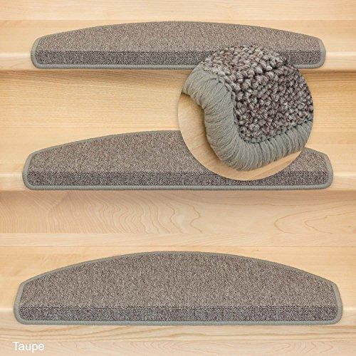 Kettelservice-Metzker® Stufenmatte Treppenmatte Rambo Halbrund - in vielen aktuellen Farben (Beige) Test