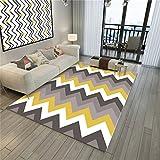 Wohnzimmer 3D Printing & Draping Dekorative Teppich Geometrisches Muster Bodenfliesen Europäischen Einfachen Stil Rechteckigen Teppich Kinderteppich Schlafzimmer Rutschfeste Teppich Teppich Teppiche