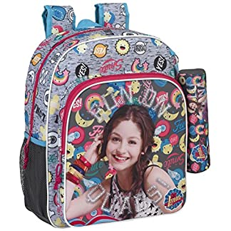 Safta Mochila Escolar Junior Soy Luna «Athletic» Oficial 320x120x380mm