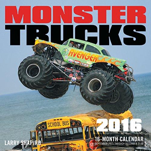 Monster Trucks 2016 Calendar (Monster-truck-kalender)