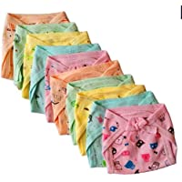 Aman artis Newborn Baby Washable Reusable Kids Hosiery Cotton Cloth Nappies|Cloth Diaper/Langot Pack of 6(0 to 6 Months) Multicolor (Assorted)