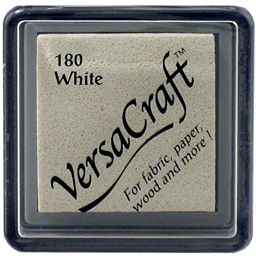 Kiwi Tsukineko Versacraft Ink Pad, verde, Small White