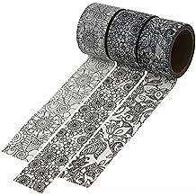 Dawnzen® Cinta de Papel Washi Cinta Adhesiva Decorativa para Decoración DIY Scrapbooking Craft Embalaje de