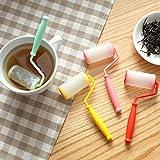 Appliances Dishwashers Best Deals - Bluelover de silicona cepillo Tea Stainer Infusor Creative hojas de té filtro inundator té herramientas