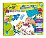 Crayola Mini Kids Set Stampini Magici, Età 36 Mesi, per Gioco e Regalo, 7454