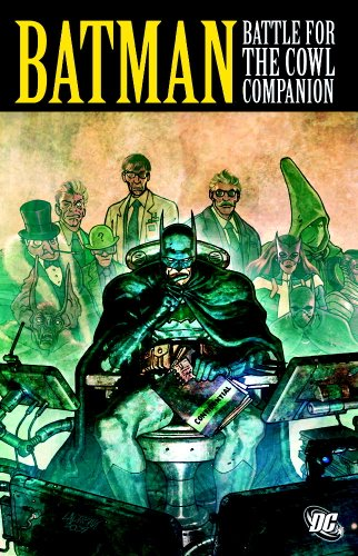 Batman Battle For The Cowl Companion TP