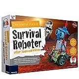 Unbekannt Experimentier-Set Survival Roboter selber bauen und erleben Bauteile sind Legokompatibel ab 8 Jahren • Bausatz Experimentierkasten Kinder Elektronik Spiel Set