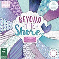 Premium Craft Cardstock First Edition 6x6 Designer Paper Pad - Beyond The Shore