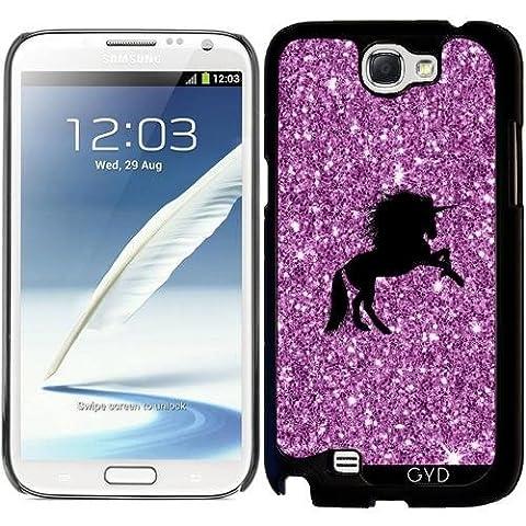 Coque pour Samsung Galaxy Note 2 (GT-N7100) - Licorne Pétillante