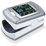 Beurer PO 80 pulsoxymeter, meting van zuurstofverzadiging (SPO2) en hartslag (hartslags), 24 uur continue registratie, softwa
