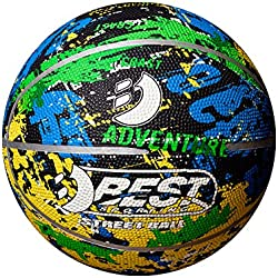 Best Sport Adventure Ballon de Basket Mixte Enfant, Multicolore