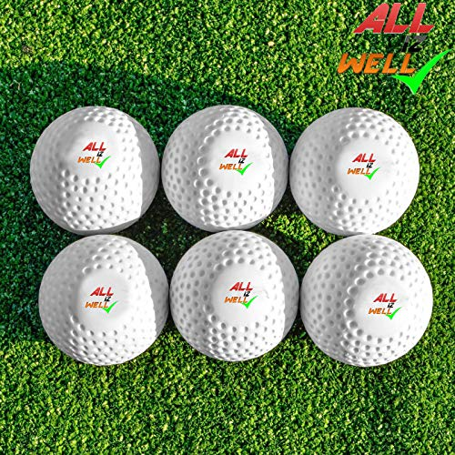 All IZ Well Field Hockey Ball/Cricket Training/Golf Training Practice Ball (2)