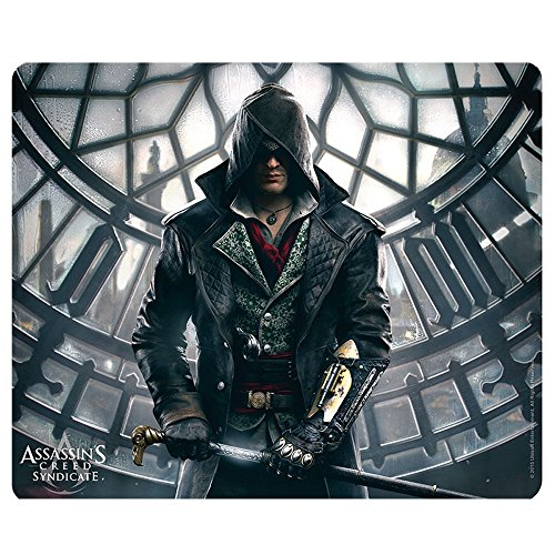 Preisvergleich Produktbild Assassins Creed - Mausmatte Mauspad - Syndicate - Jacob in Big Ben - 23 x 19 cm