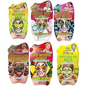 Montagne Jeunesse, Set di sacchetti di maschere per il viso, 6 pz.