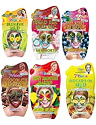 Montagne Jeunesse - 7th heaven Pack de 6 Masques Visage Boue