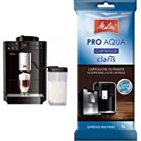Melitta Caffeo Passione OT, Kaffeevollautomat mit Milchbehälter, One Touch Funktion & Filterpatrone für…