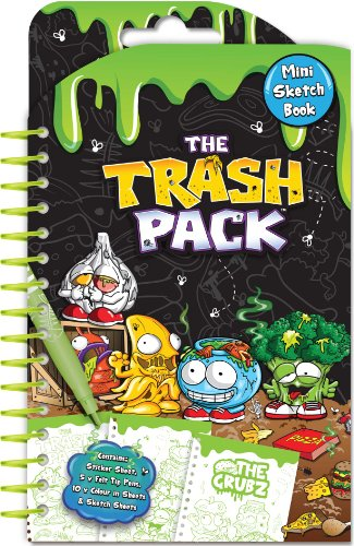 Anker ANKTPMB - Trash Pack Mini Sketch Book Set