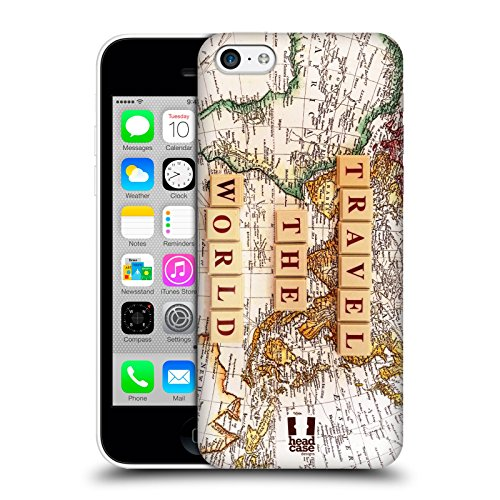 Head Case Designs Travel More Welt Reisen Ruckseite Hülle für Apple iPhone 6 / 6s Come