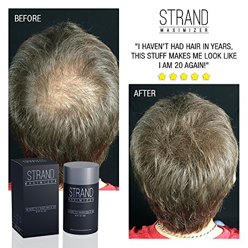 Hair Fibers Conceal Hair Loss, Thinning Hair and Bald Spots