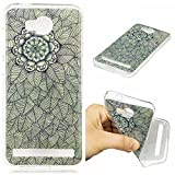 Huawei Y3 II / Y3 2 Hülle Case, Cozy Hut® [Fun-Serie] Ultra Dünn [Crystal Case] Transparent Soft-Flex Handyhülle / Bumper-Style Premium-TPU Silikon / Perfekte Passform / Kratzfest Schutzhülle für Huawei Y3 II / Y3 2 Case, Huawei Y3 II / Y3 2 Cover, Y3 II / Y3 2 Case, Y3 II / Y3 2 Cover - Belaubte Blume
