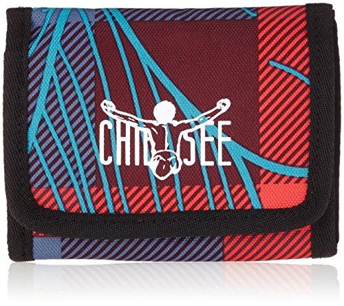 Chiemsee Unisex-Erwachsene Wallet Geldbörse, Mehrfarbig (Checks Floral), 10x2x12.5 cm (Geldbeutel Checks)