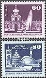 Prophila Collection DDR 2649-2650 (kompl.Ausg.) 1981 Aufbau in der DDR, Kleinformat (XV) (Briefmarken für Sammler)