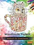 Wundervolle Tierwelt: Malbuch für Erw...
