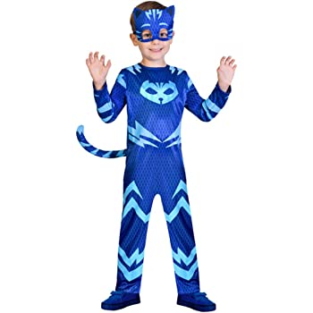 amscan PJMASQUES Costume Pj Mask Cat Boy (5-6 Anni),, 5, 7AM9902953