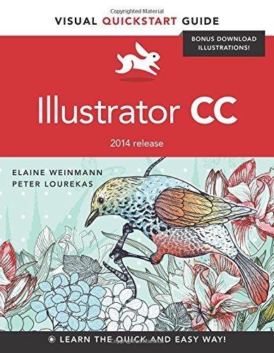 Illustrator CC: Visual QuickStart Guide (2014 release) 1st edition by Weinmann, Elaine, Lourekas, Peter (2014) Paperback