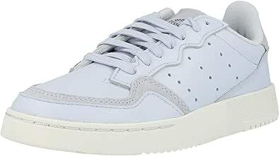 adidas Originals Supercourt J Blu/Bianca (Aero Blue/Crystal White) Pelle 36 EU